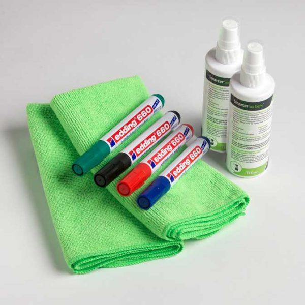 Smarter Surfaces Kit d'Accessoires Tableau Blanc