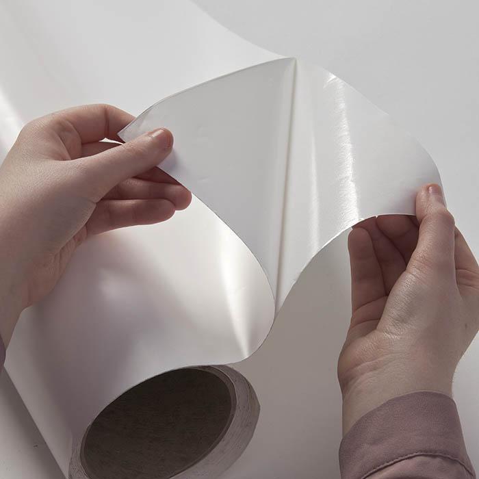 Film autocollant tableau blanc décollant le dos adhésif