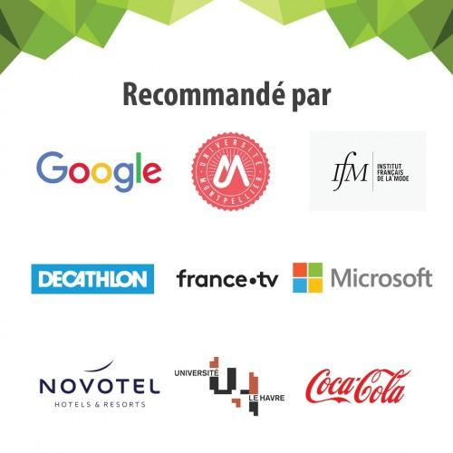 Clients français qui ont acheté le film autocollant tableau blanc smarter surfaces