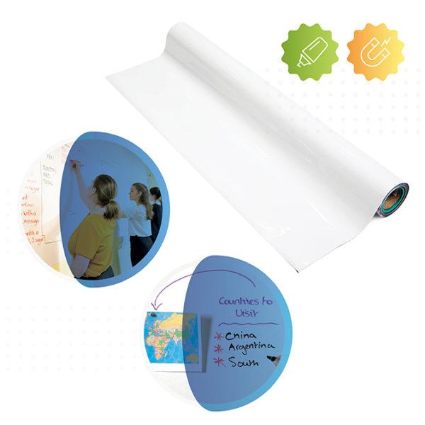 rouleau du papier peint magnétique tableau blanc smart de Smarter Surfaces