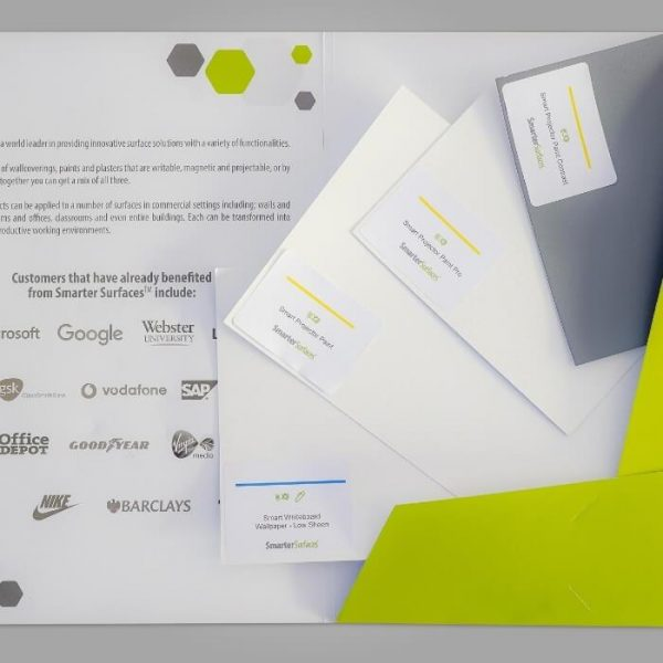 Pack Échantillons Produits de Projection Smarter Surfaces