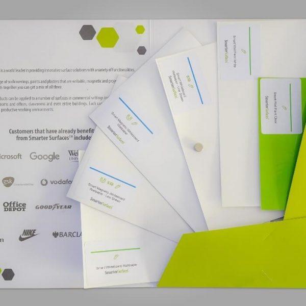 Pack Échantillons Produits Tableau Blanc Smarter Surfaces
