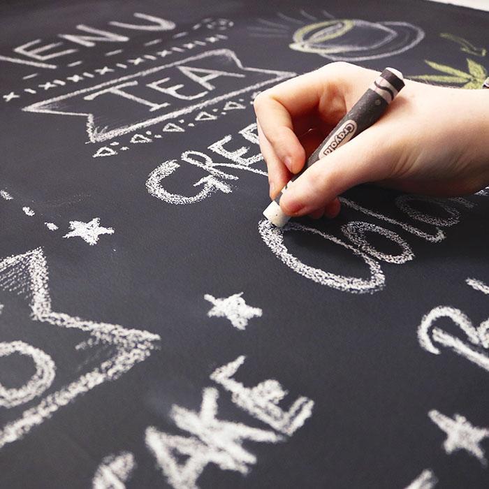 ecrire sur mur avec peinture tableau noir smart