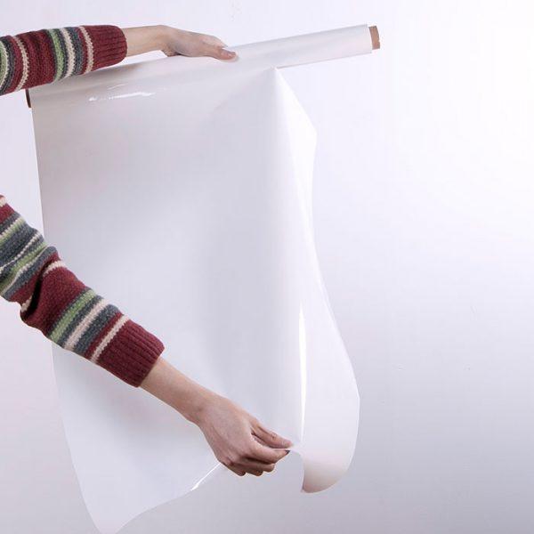 rouleau de feuille tableau blanc smart