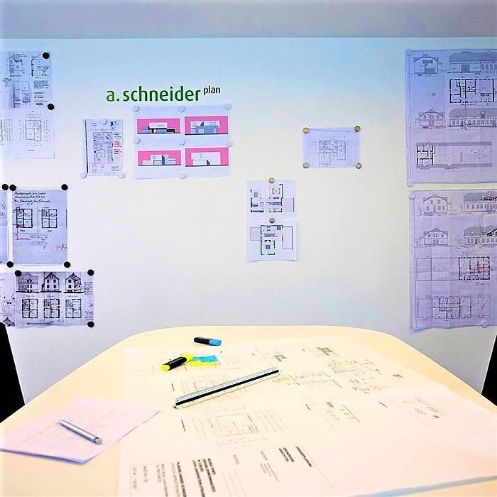 mur magnétique au bureau créé avec le plâtre magnétique smart