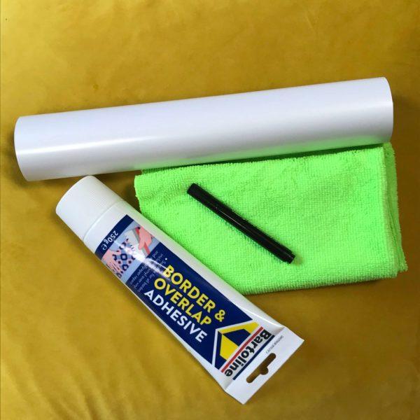 Papier Peint Projecteur & Tableau Blanc Smart - Grand échantillon