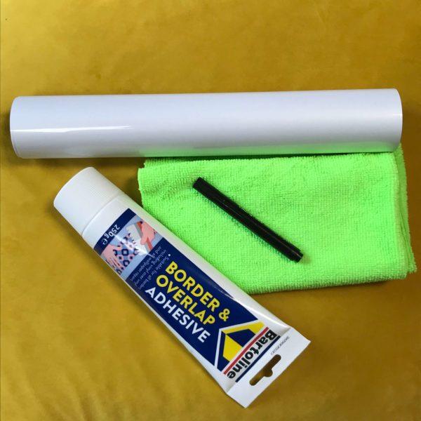 Papier Peint Tableau Blanc Smart Grand échantillon