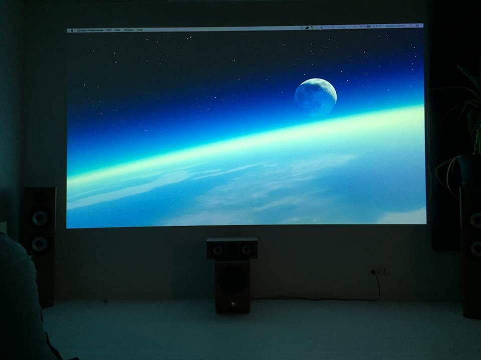 Peinture Projecteur Smart en usage